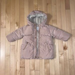 Baby pink coat 12-18 months